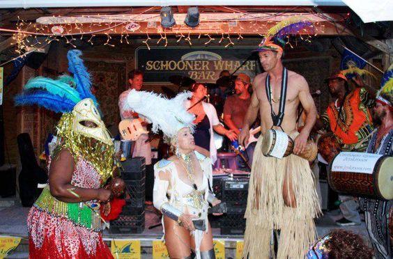 Schooner Wharf Bar - Key West.