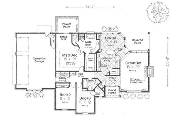 Like that the bedrooms are all close to the master bedroom