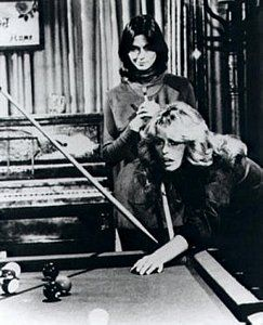 Farah Fawcett and Kate Jackson  two of Charlies's Angels
