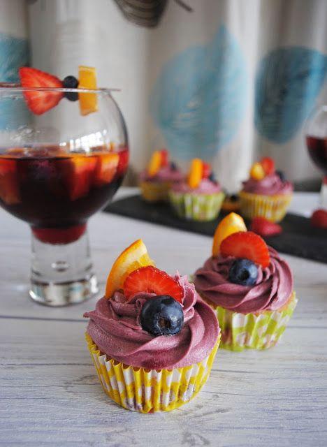 Sangria Cupcakes!