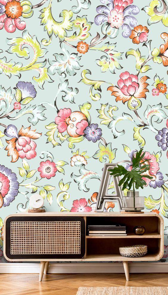 Jali Green Wallpaper Wallsauce Au Chinoiserie Wallpaper Green Wallpaper Oriental Wallpaper