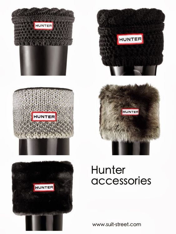 Hunter Socks in black, gray, light gray. The thicker, the better :D