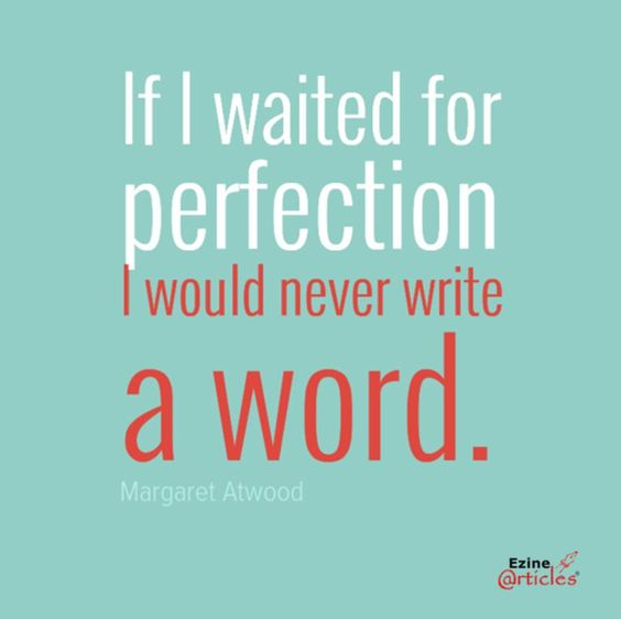 Such an inspiring quote for those times when writing something is more important than writing 'the' thing. #writing #quotes #writers #creativewriting #blog #blogging
