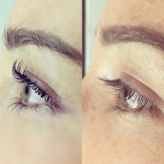 79aed131faa The eyelash lift and tint is a great way to achieve longer lashes!