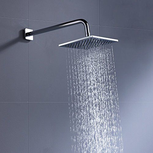 Cheap Luxury Rain Shower Head 8 Inch With 2 5 Gpm High Pressure