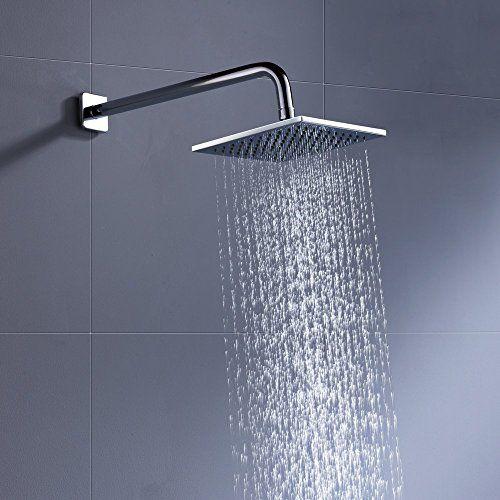 Cheap Luxury Rain Shower Head 8 Inch With 2 5 Gpm High Pressure