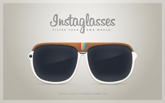 These are AWESOME! Follow us on Instagram @ intrustbankarena // Instaglasses (Product Concept) | Designer: Markus Gerke