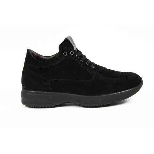 Versace 19.69 Abbigliamento Sportivo Milano mens sneakers 1010 CAMOSCIO NERO