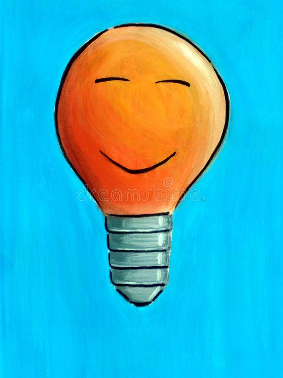 Light Bulb Smiling Light Bulb Affiliate Bulb Light Light Smiling Ad Light Bulb Bulb Light Bulb Illustration