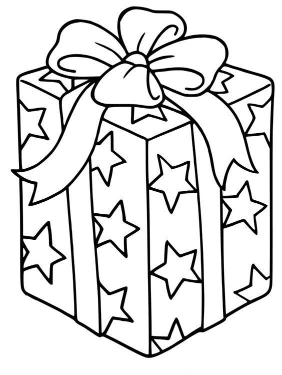 Presents Coloring Pages - Best Coloring Pages For Kids