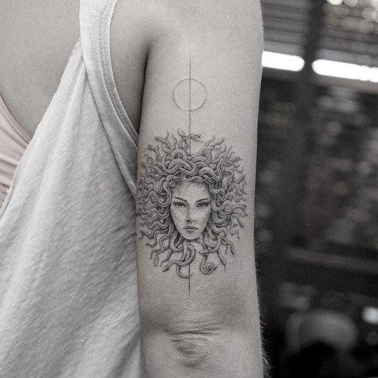 meduza head tattoo