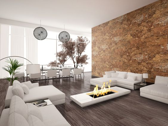 paneles decorativos paredes estilo minimalista