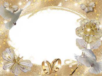 Mais De 380 Molduras De Fotos De Casamento Gratis Para Fotomontagem Online Molduras Casamento Quadros De Casamento Cartão De Casamento