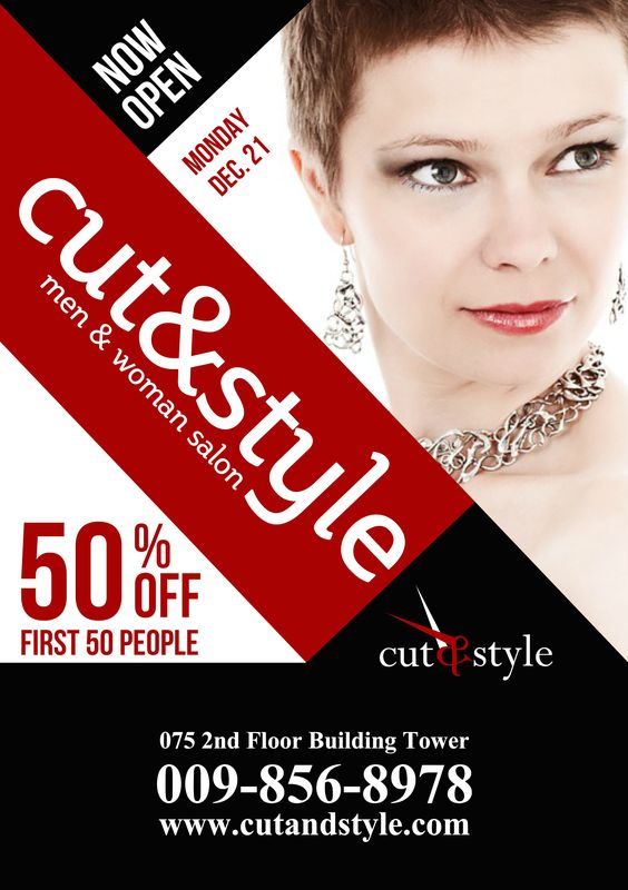 Retail A5 promotional flyer http\/\/premadevideos\/a5-flyer - promotional flyer template