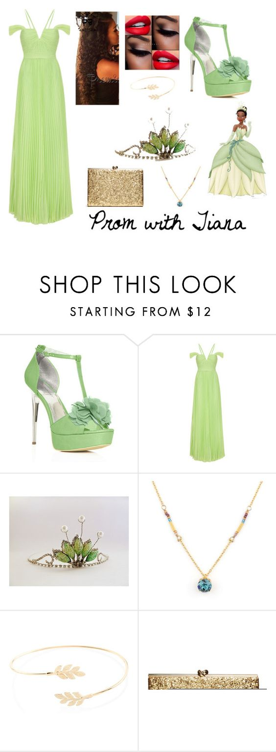 """""""Prom with Tiana """" by tabitha-bilyeu ❤ liked on Polyvore featuring JustFab and Accessorize"""