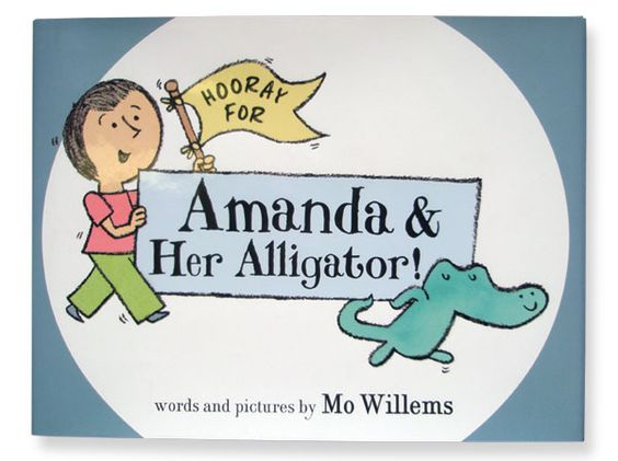 Amanda and Her Alligator. Another fun one from Mo Willems. Very early chapter book which includes ch 2 1/2 :)