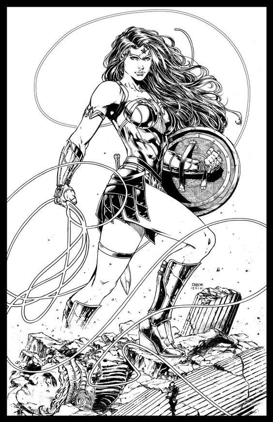 Wonder Woman by Jason Fabok *