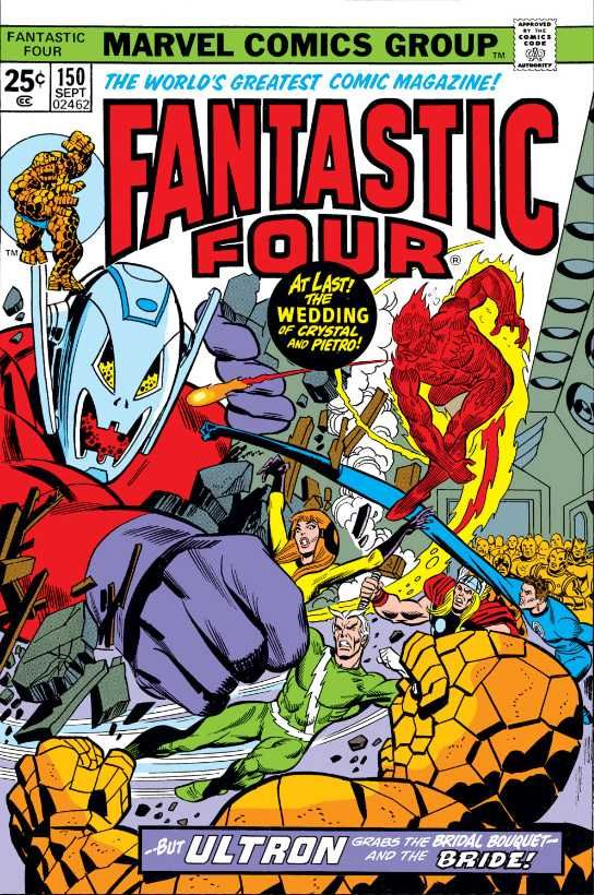 Fantastic Four #150 - Ultron-7: He'll Rule the World