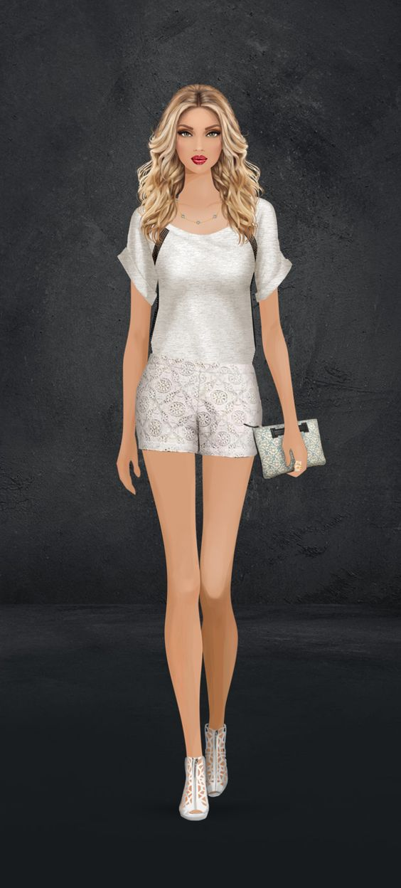 Pearl Monotone event on Covet Fashion Game