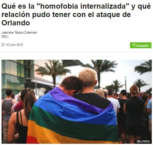 """Qué es la """"homofobia internalizada"""" y qué relación pudo tener con el ataque de Orlando [BBC]"""