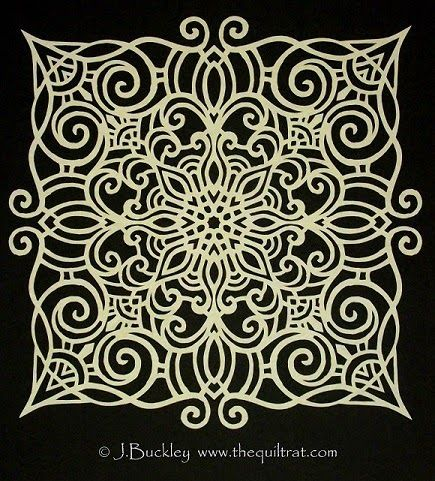 The Quilt Rat: Papercutting