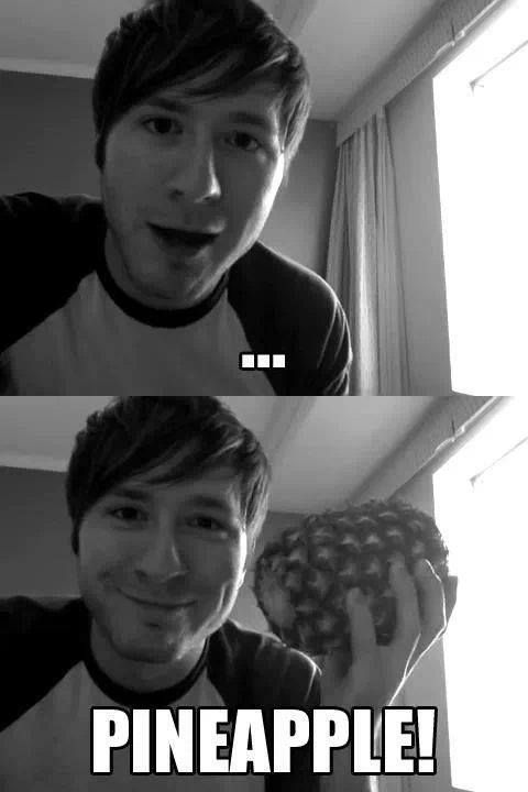 Always a good response. << Adam found the pineapple!! (I've watched too much Psych...)