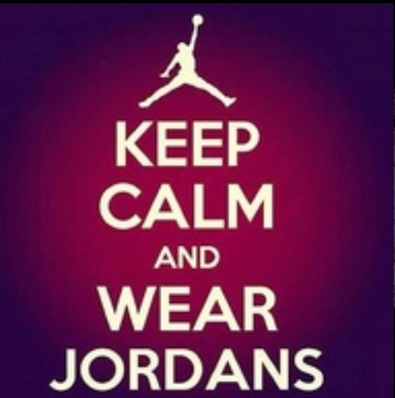 Wear Jordans I really need another pair, I've only got the 1 phat black and gray