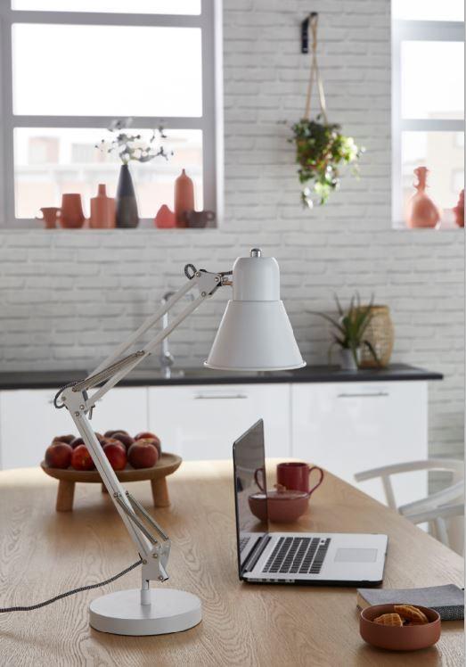 Lampe De Bureau Colours Acuna Blanc Lampe De Bureau Castorama Lampe Architecte