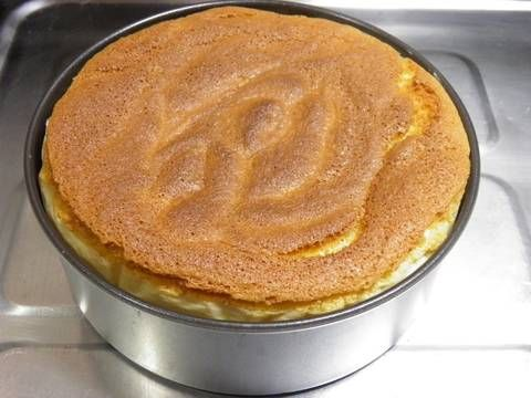 Great recipe for For Beginners Rice Flour Sponge Cake. I tried making a no-fail sponge cake using rice flour. As long as you whip it properly you can't fail. Take your time and please whip it well. You can use milk in place of soy milk. Recipe by Otometeo