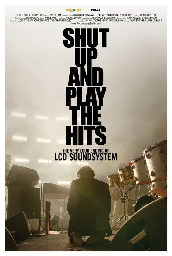 Poster for 'Shut Up and Play the Hits'