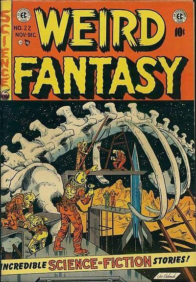 Cover for Weird Fantasy (1951 series) #22