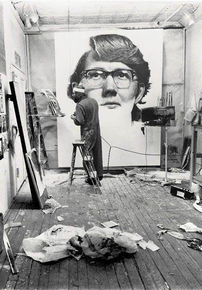 Chuck Close, Keith on ArtStack