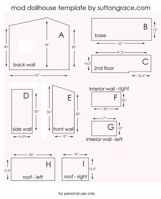 Doll house plans somebody will need this someday for Dollhouse building plans free