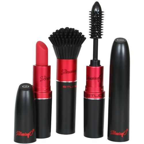 Screaming O Studio Collection Kit  Disguised to look like lipstick, mascara and a makeup brush.
