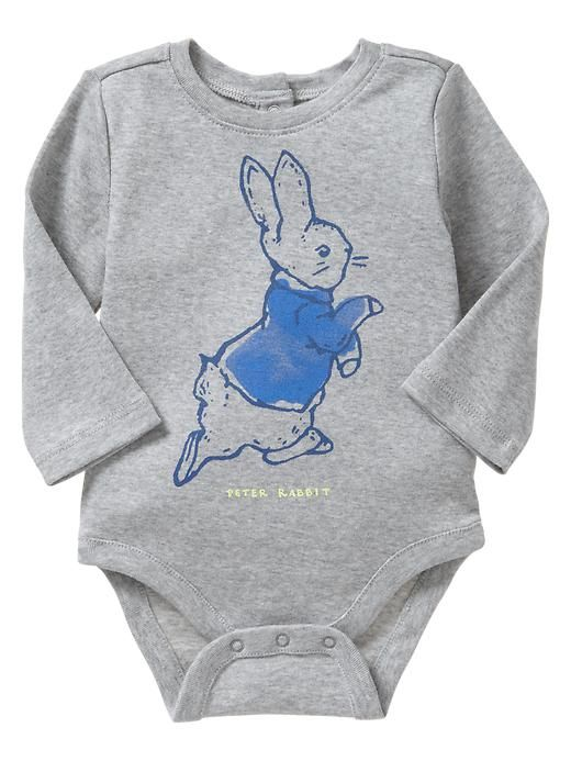 """Peter Rabbit is a timeless character that generations of children have enjoyed, so we're thrilled to offer a babyGap collection inspired by characters and scenes from the books,"" said Lexi Tawes, Vice President of Merchandising for Gap North America."