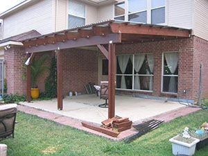 Patio Roof Over Existing Deck   Thread: Patio Beam Span   Porches    Pinterest   Patio Roof, Beams And Decking