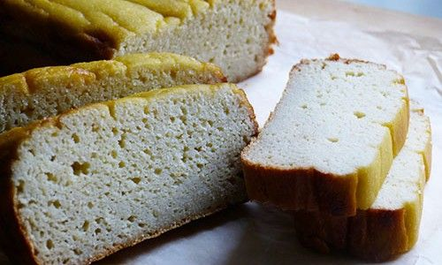 Coconut bread: Perfectly suitable even for the strict phase of the Candida diet and for Paleo lovers because it's yeast free, sugar free, dairy free and grain free