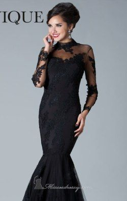 Cutaway Back Gown by Janique K6055