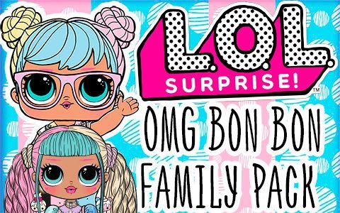 Lol Surprise Omg Bon Bon Family Pack 2020 Exclusive Doll Set Doll Sets Lol Dolls Friends Wallpaper
