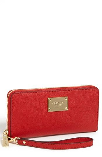 MICHAEL Michael Kors iPhone 5 Continental Wristlet | Nordstrom