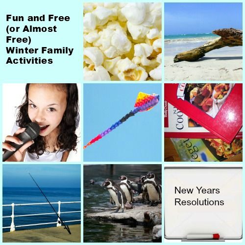 Free (or almost free) Winter Family Activities
