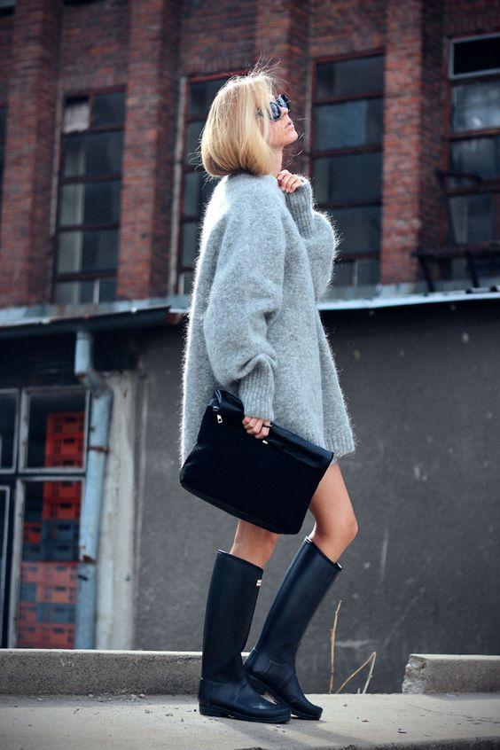 Sirma Markova: Big, Gray, Fluffy, Sweater Weather