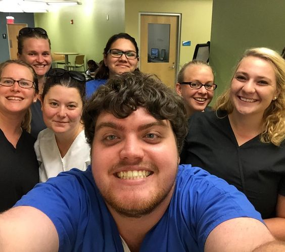 An unexpected RCC Nursing Student Selfie! #nursingselfie #nursingstudents #rcc #rappahannock #comm_college #communitycollege #college #nnk #northernneck #northernneckva