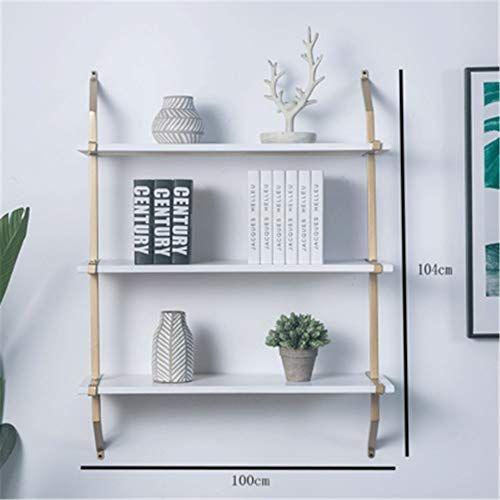 Gray Sabi Shelf Wall-Mounted Floating Shelf