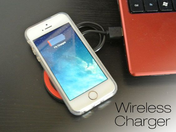 Wirelessly Charge Up Your iPhone 5 w/WiQiQi i5 Charger - Leave The Cords Alone, Easily Charge Your iPhone Wire Free
