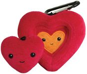 Kimochis® Nesting Heart. Parents & kids can stay connected during back-to-school.