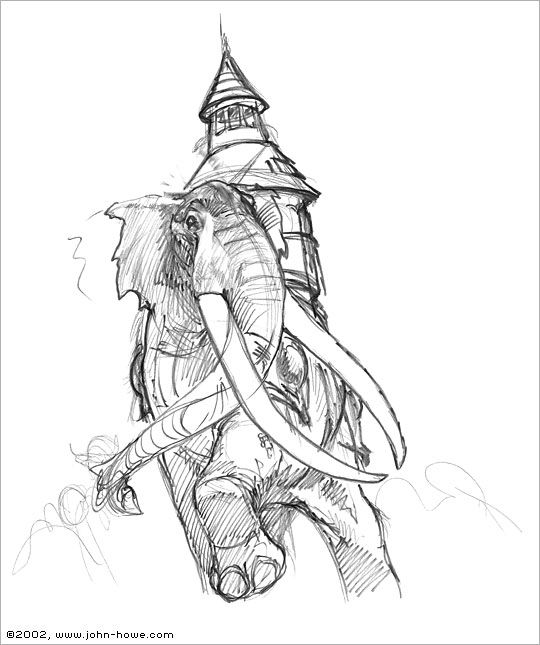 Character Design, War Elephant And 2 Step On Pinterest