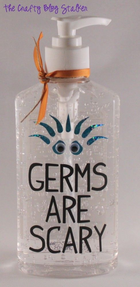 How To Make A Germs Are Scary Hand Sanitizer Hand Sanitizer