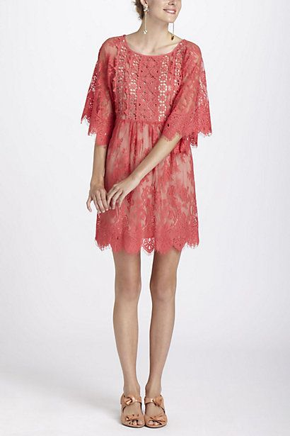 #Anthropologie Tracy Reese Enchanted Button Back Dress