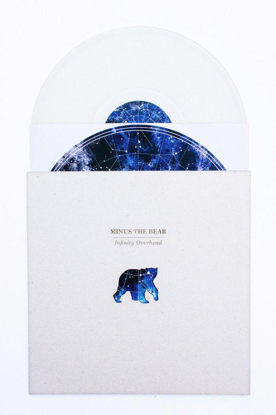 Vinyl Redesign: Minus the Bear by Irina Wang, via Behance graphic illustration packaging